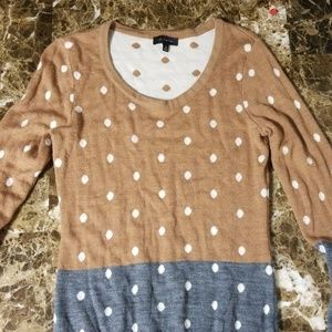 4/$15 The Limited XS Polka Dot Sweater!